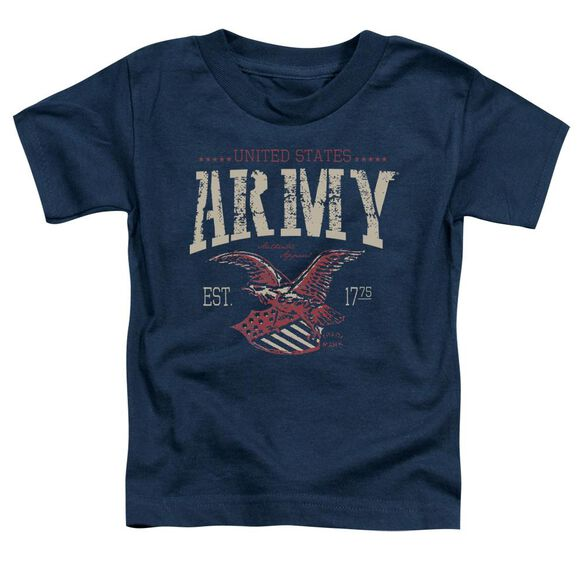Army Arch Short Sleeve Toddler Tee Navy Sm T-Shirt