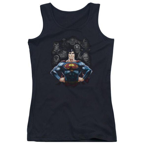 Superman Villains Juniors Tank Top