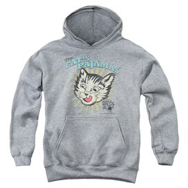 Puss N Boots Cats Pajamas-youth Pull-over Hoodie