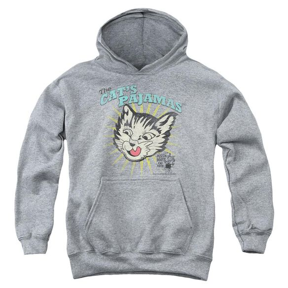 Puss N Boots Cats Pajamas Youth Pull Over Hoodie