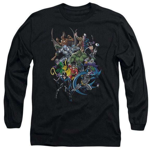 BATMAN SAINTS AND PSYCHOS-L/S T-Shirt