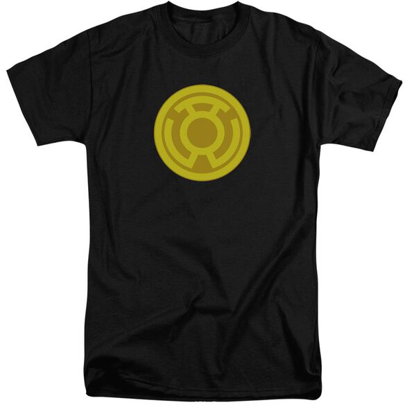 Green Lantern Yellow Symbol Short Sleeve Adult Tall T-Shirt