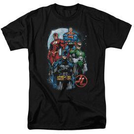 Jla The Four Short Sleeve Adult T-Shirt