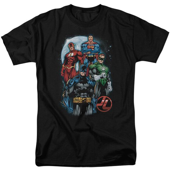 Jla The Four Short Sleeve Adult T-Shirt