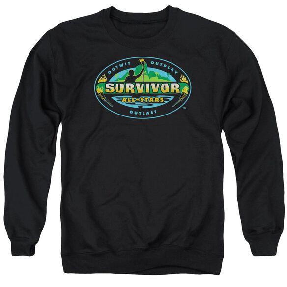 Survivor All Stars - Adult Crewneck Sweatshirt - Black