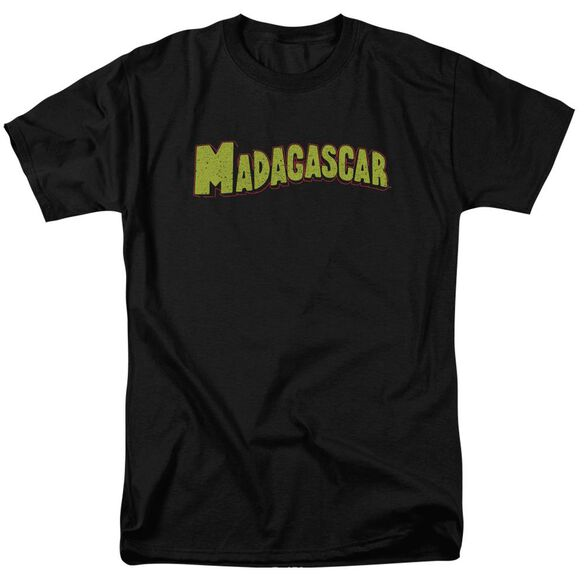 Madagascar Logo Short Sleeve Adult T-Shirt