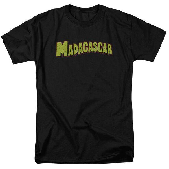 Madagascar Logo Short Sleeve Adult T-Shirt