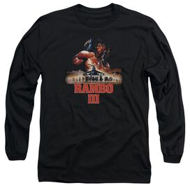 Rambo Iii French Poster Long Sleeve Adult T-Shirt