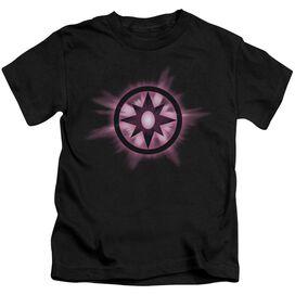 Green Lantern Sapphire Glow Short Sleeve Juvenile Black Md T-Shirt