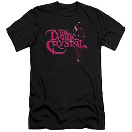 Dark Crystal Bright Logo Premuim Canvas Adult Slim Fit