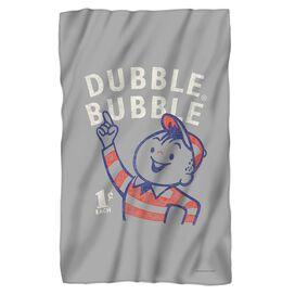 Dubble Bubble Pointing Fleece Blanket