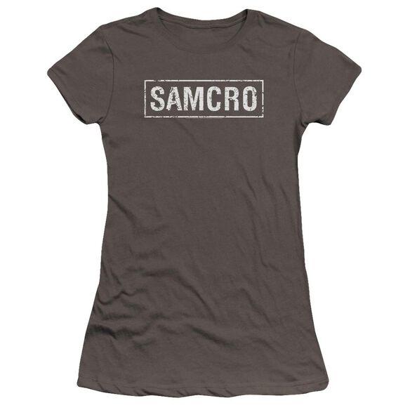 Sons Of Anarchy Samcro Premium Bella Junior Sheer Jersey