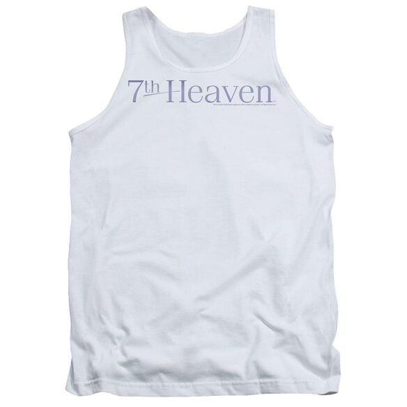7th Heaven 7th Heaven Logo - Adult Tank - White