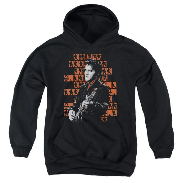 Elvis 1968 Youth Pull Over Hoodie