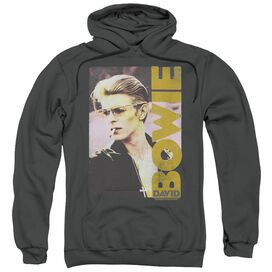 David Bowie Smokin Adult Pull Over Hoodie