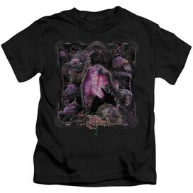 Dark Crystal Lust For Power Short Sleeve Juvenile Black T-Shirt