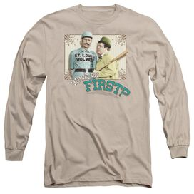 ABBOTT & COSTELLO WHOS ON FIRST- L/S ADULT T-Shirt
