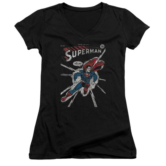 Dc Cover Me Junior V Neck T-Shirt