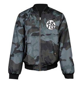 Dragon Ball Z Saiyan Camoflage Jacket