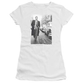 Dean On The Street Short Sleeve Junior Sheer T-Shirt