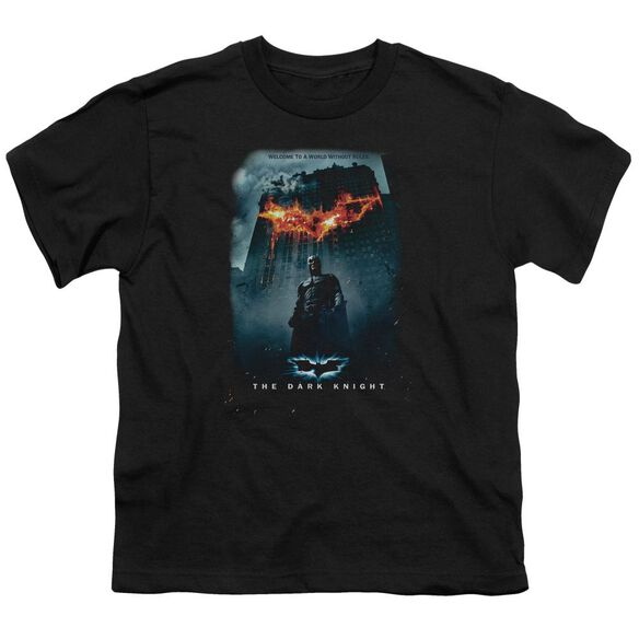 Dark Knight Without Rules Poster Short Sleeve Youth T-Shirt