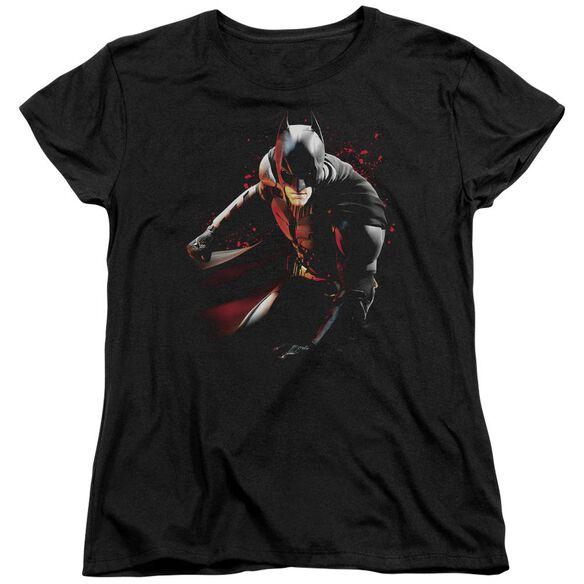 Dark Knight Rises Ready To Punch Short Sleeve Womens Tee T-Shirt