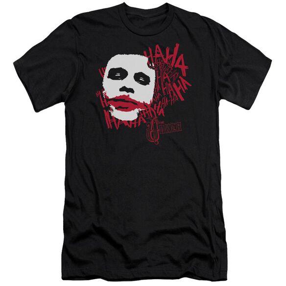 Dark Knight Whats So Funny Short Sleeve Adult T-Shirt