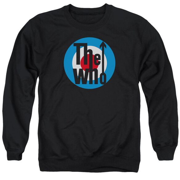 The Who Logo Adult Crewneck Sweatshirt