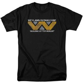 Alien Weyland Short Sleeve Adult T-Shirt