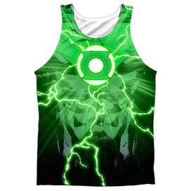 Jla John Burst Adult 100% Poly Tank Top