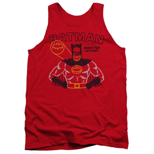 Batman Ready For Action Adult Tank