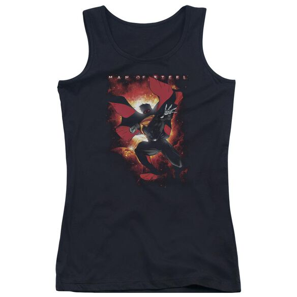 Man Of Steel Out Of The Sun Juniors Tank Top