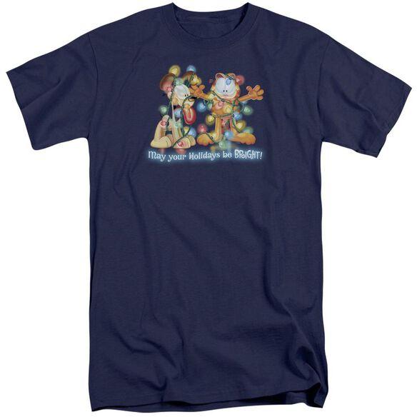 Garfield Bright Holidays Short Sleeve Adult Tall T-Shirt