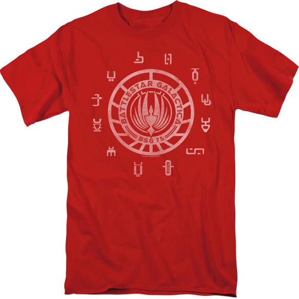 BSG COLONIES - S/S ADULT 18/1 - RED T-Shirt