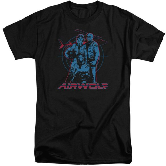 Airwolf Graphic Short Sleeve Adult Tall T-Shirt