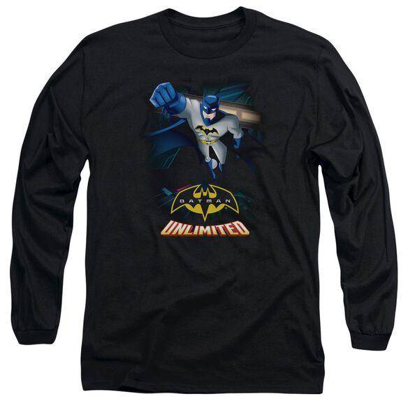 Batman Unlimited Descent Long Sleeve Adult T-Shirt