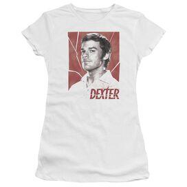 Dexter Poster Short Sleeve Junior Sheer T-Shirt