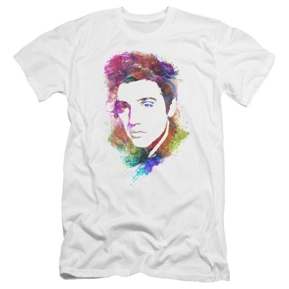Elvis Watercolor King Hbo Short Sleeve Adult T-Shirt