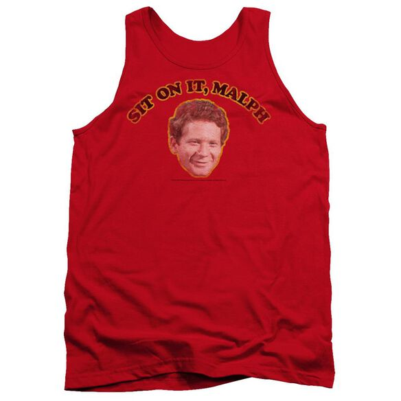 HAPPY DAY IT ON IT MALPH - ADULT TANK - RED T-Shirt