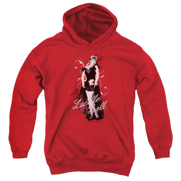 Lucille Ball Signature Look Youth Pull Over Hoodie