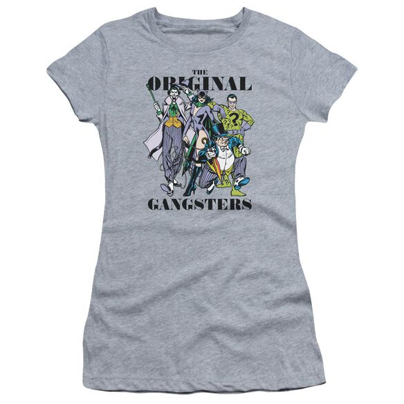 Dc Original Gangsters Short Sleeve Junior Sheer Athletic T-Shirt