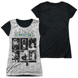 Genesis Lamp Short Sleeve Junior Poly Black Back T-Shirt