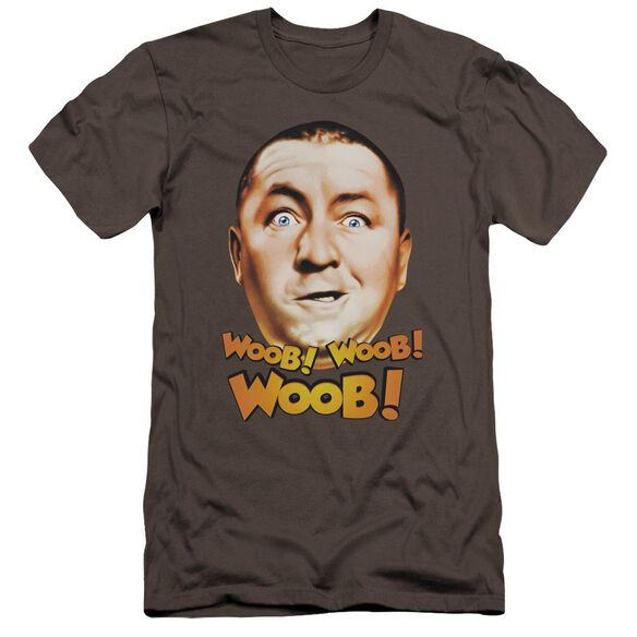 Three Stooges Woob Woob Woob Premuim Canvas Adult Slim Fit