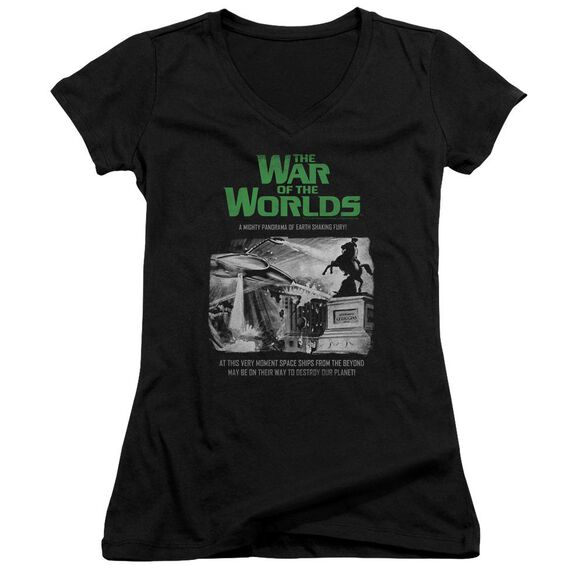 War Of The Worlds Attack People Poster Junior V Neck T-Shirt