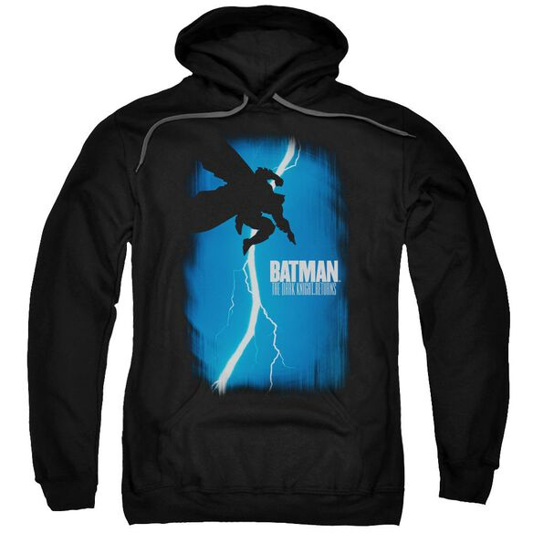 Batman Dkr Cover Adult Pull Over Hoodie