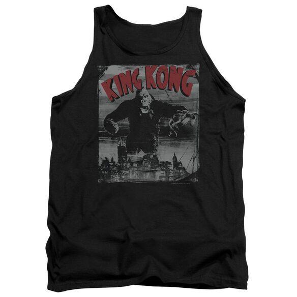 King Kong City Poster Adult Tank