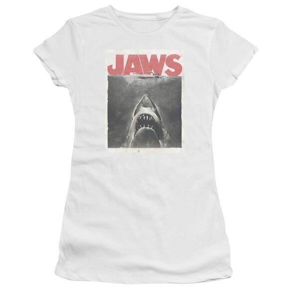 Jaws Classic Fear Premium Bella Junior Sheer Jersey