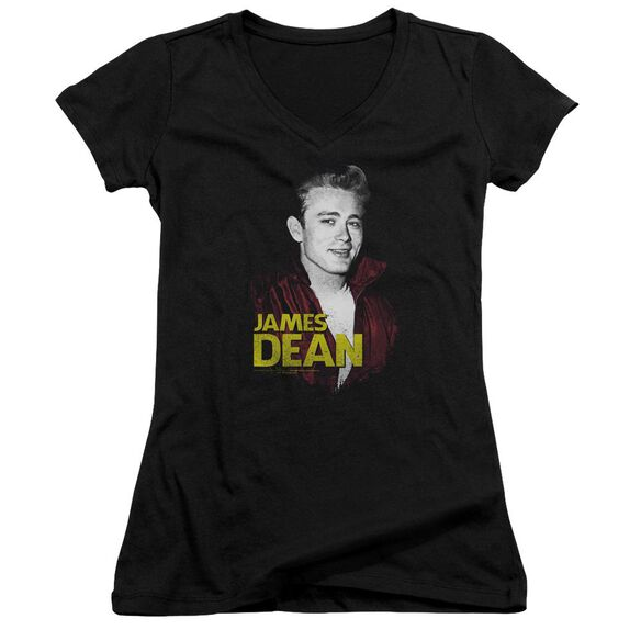 Dean Red Jacket Junior V Neck T-Shirt