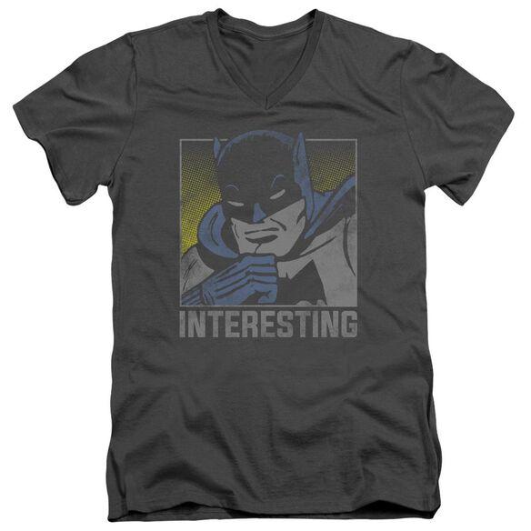 Dc Interesting Short Sleeve Adult V Neck T-Shirt