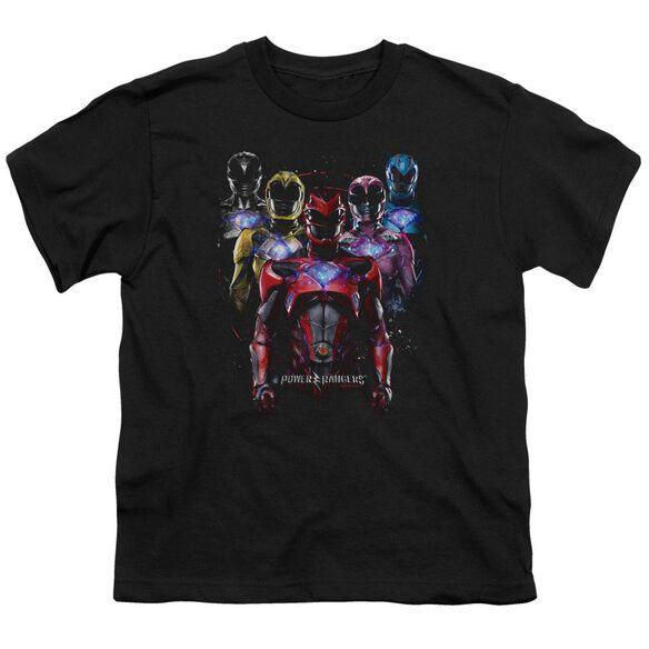 Power Rangers Team Of Rangers Short Sleeve Youth T-Shirt